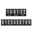 countdown timer 02 vector image vector image