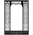 Grid frame vector image vector image