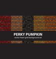 heart pattern set perky pumpkin seamless vector image vector image