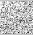 Polygonal mosaic triangular polygon pattern vector image