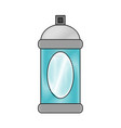 spray paint bottle vector image vector image