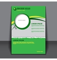 Background concept design for brochure vector image vector image