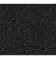 Black and White Printed Circuit Board vector image vector image