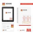 carrots farm business logo tab app diary pvc vector image vector image