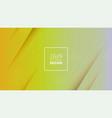 futuristic design yellow background templates vector image vector image