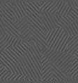 gray color geometric pattern with lines vector image vector image