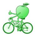 green diet vector image vector image