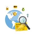international stock exchange icons vector image