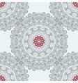 Mandala Tile Seamless Print Symmetry Pattern vector image vector image