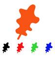 oak leaf icon vector image