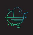 param icon design vector image vector image
