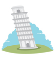 Pisa tower vector image
