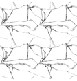 Realistic broken glass seamless pattern vector image vector image