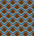 trapezoid seamless pattern background vector image vector image