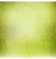 Abstract green vintage background vector image vector image