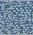 abstract zig zag chevron pattern for fabric vector image vector image