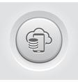 Cloud Storage Icon vector image
