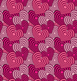 Onion Heart seamless pattern of heartsValentines d vector image vector image