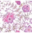 Seamless pattern with flower Beautiful bright vector image