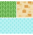 Seamless Retro Patterns vector image vector image