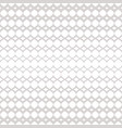 silver halftone seamless pattern white and gray vector image