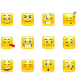 smileys with emotions vector image