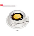 hot coffee a popular drink in norway vector image vector image