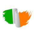 ireland flag symbol icon design irish flag color vector image vector image