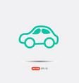 pictograph of car logo vector image
