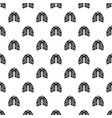 pneumonia lungs pattern seamless vector image