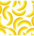 Seamless pattern of bananas vector image vector image