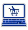 web buy vector image vector image