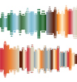 Abstract colorful gradient indicator set Abstrsct vector image vector image