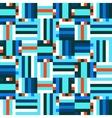 Digital blue pattern vector image vector image