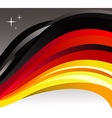 Germany flag background vector image vector image