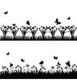 meadows vector image vector image