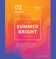 Summer poster event template