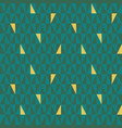 teal and green geometric triangle pattern with vector image
