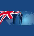 uk united kingdom english england international vector image vector image