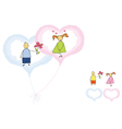 valentines romance vector image