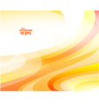 Yellow Wave background Eps 10 vector image vector image