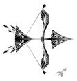 zodiac signs - sagittarius vector image vector image
