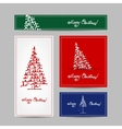 Christmas set for print cards