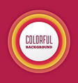 colorful abstract gradient background with text vector image
