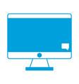 computer icon imag vector image vector image