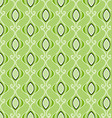 geometric patterns green vector image vector image