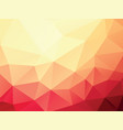 geometric summer texture background vector image
