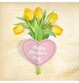 Happy Mothers Day lettering EPS 10 vector image vector image