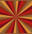 sunburst new year pattern radial stripes vector image vector image