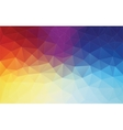 Vertical Abstract 2D geometric colorful background vector image vector image